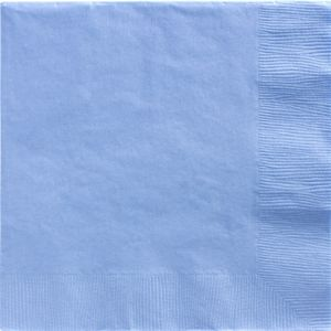 Big Party Pack Pastel Blue Dinner Napkins 50ct