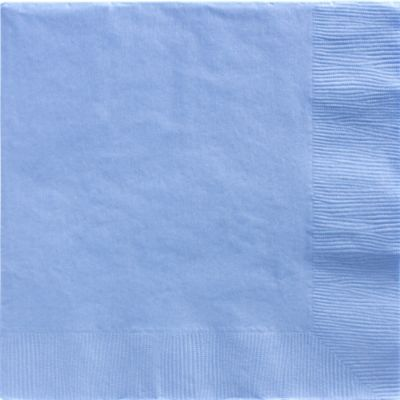 Pastel Blue Dinner Napkins 50ct