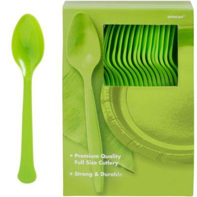 Kiwi Premium Plastic Spoons 100ct