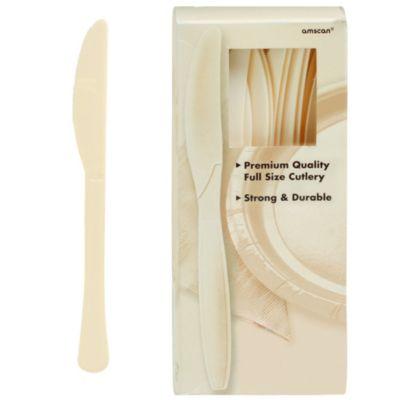 Vanilla Premium Plastic Knives 100ct