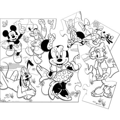 Minnie Mouse Activity Puzzle