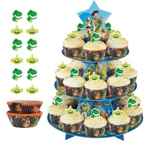 Deluxe Toy Story Cupcake Kit for 24
