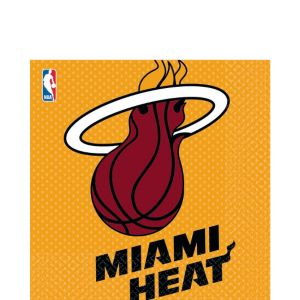 Miami Heat Lunch Napkins 16ct