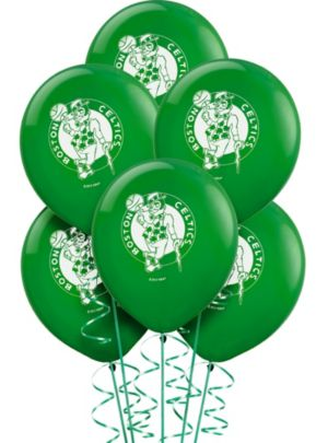 Boston Celtics Balloons 6ct