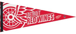 Detroit Red Wings Pennant Flag