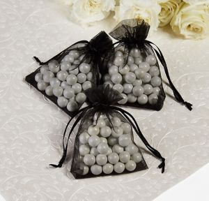 Back Organza Wedding Favor Bags