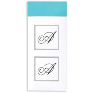 Monogram Envelope Seals A 30ct