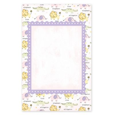 Girl Zoo Printable Baby Shower Invitations 25ct