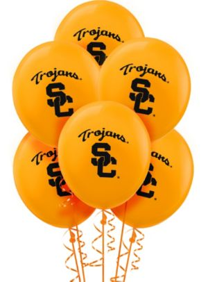 USC Trojans Balloons 10ct