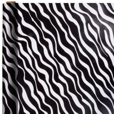 Jumbo Zebra Print Gift Wrap
