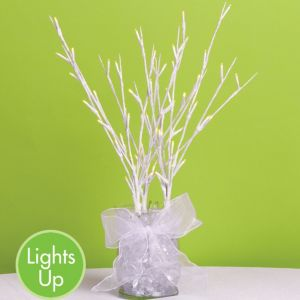 White LED Branch 20in