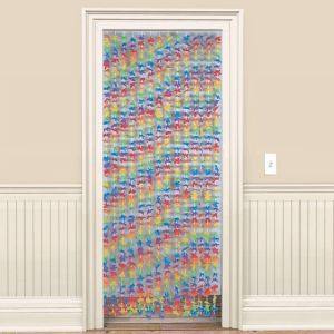 Party Flower Doorway Curtain