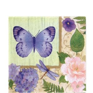 In the Garden Lunch Napkins 16ct