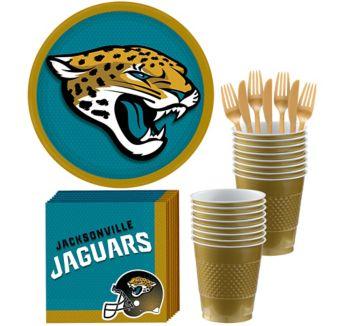 Jacksonville Jaguars Basic Party Kit for 18 Guests