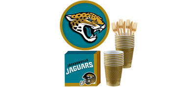 Jacksonville Jaguars Basic Party Kit for 18 Guests