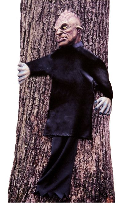 Peeping Zombie Tree Hugger