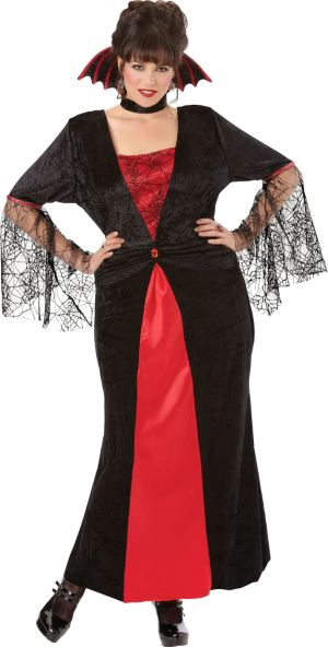 Adult Countess Vampiretta Vampire Costume Plus Size