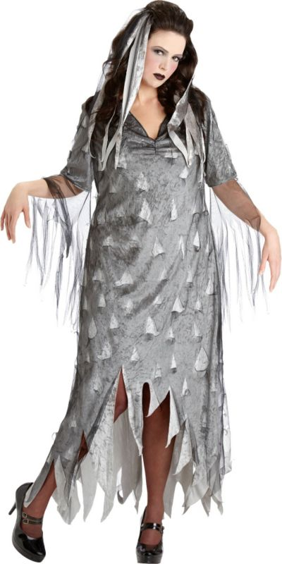 Adult Graveyard Zombie Costume Plus Size