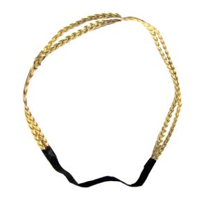 Gold Goddess Braids Headband