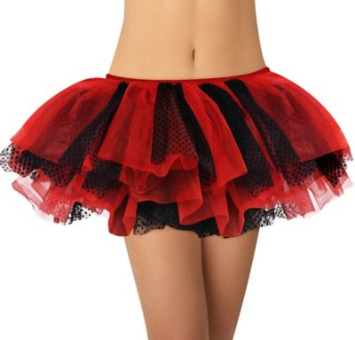 Adult Red and Black Tutu