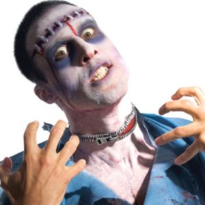 Latex Zombie Zipper Kit