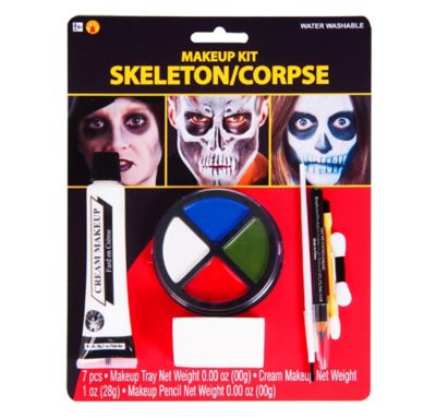 Skeleton Makeup Kit