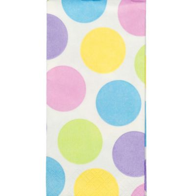 Pastel Polka Dot Facial Tissues 10ct