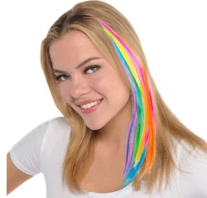 Neon Faux Hair Bobby Pins 8ct