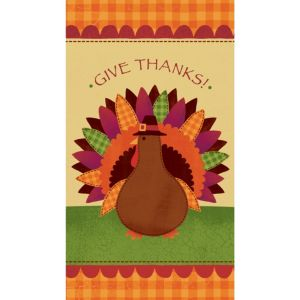 Turkey Dinner Guest Towels 16ct