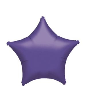 Purple Star Balloon