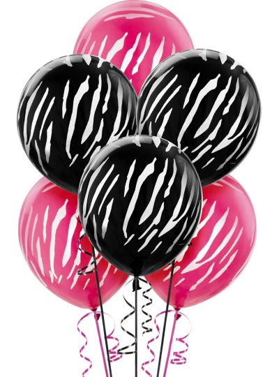 Printed Balloons - Star, Zebra & Polka Dot Balloons - Party City