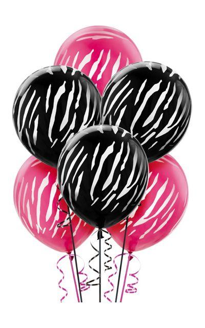 Printed Balloons - Star, Zebra & Polka Dot Balloons - Party City