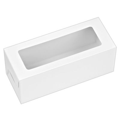 White Window Treat Boxes 3ct