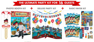 Jake and the Never Land Pirates Ultimate Party Kit