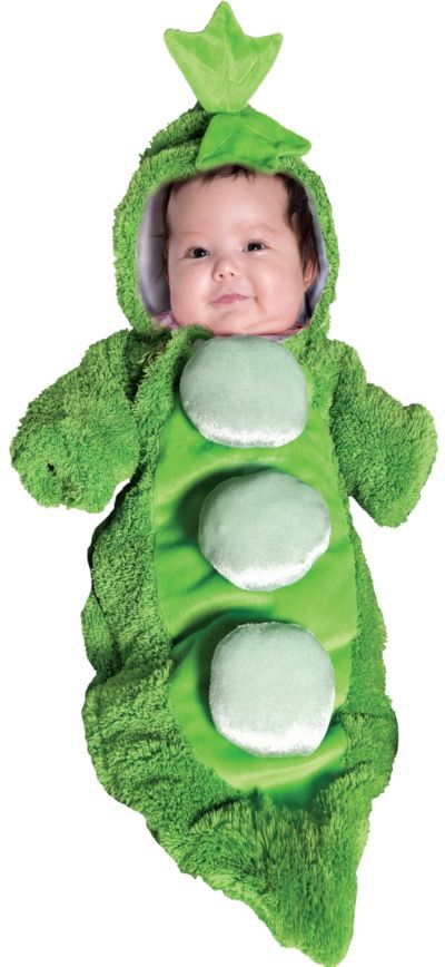 Baby Bunting Pea Pod Costume