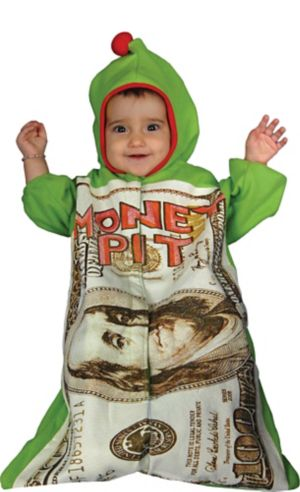 Baby Bunting Money Pit Costume