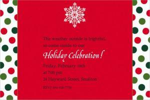 Custom Holiday Dots & Stripes Invitations