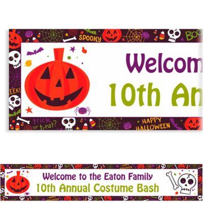 Custom Spooktacular Halloween Banner 6ft