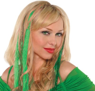 Green Hair Extensions 4ct
