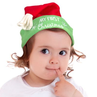 Baby First Christmas Hat