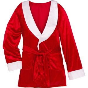 Christmas Smoking Jacket