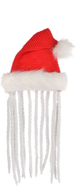 Santa Hat with Dreadlocks