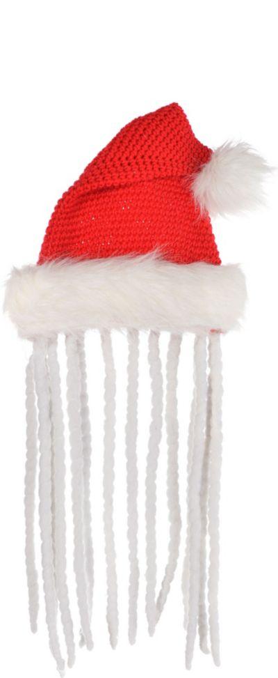 Santa Hat with Dreadlocks