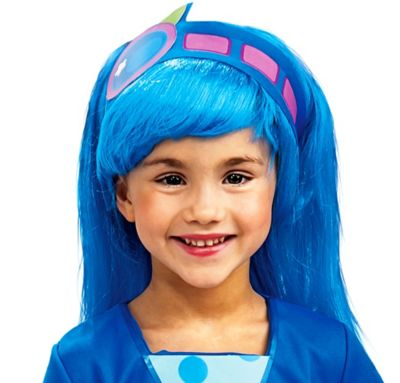 Child Blueberry Muffin Wig