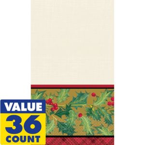 Winter Warmth Guest Towels 36ct