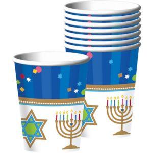Hanukkah Celebrations Cups 18ct