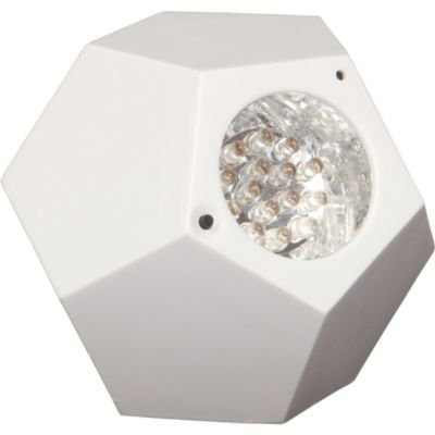 White GEO LED Strobe Light