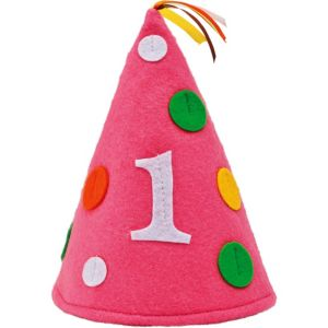 Pink Sweet at One 1st Birthday Hat