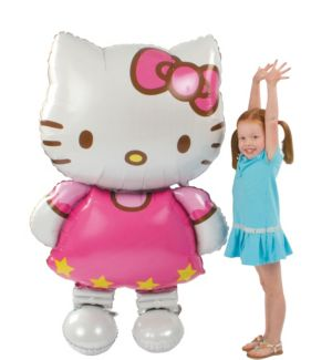 Giant Gliding Hello Kitty Balloon 50in