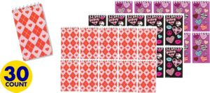 Trendy Valentine's Day Notepads 30ct